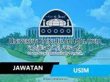 jawatan kosong terkini universiti sains islam malaysia usim