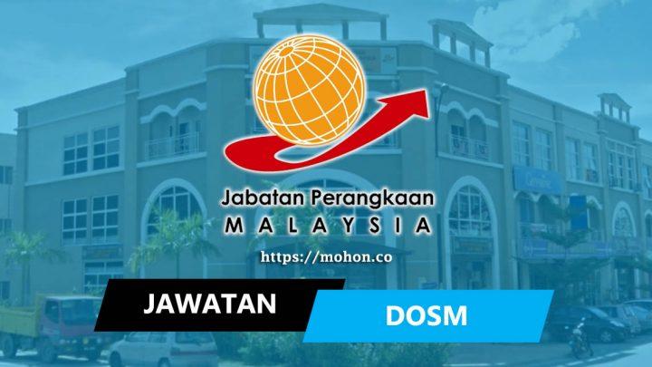 Jabatan Perangkaan Malaysia (DOSM)