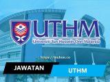 jawatan kosong terkini universiti tun hussein onn malaysia uthm