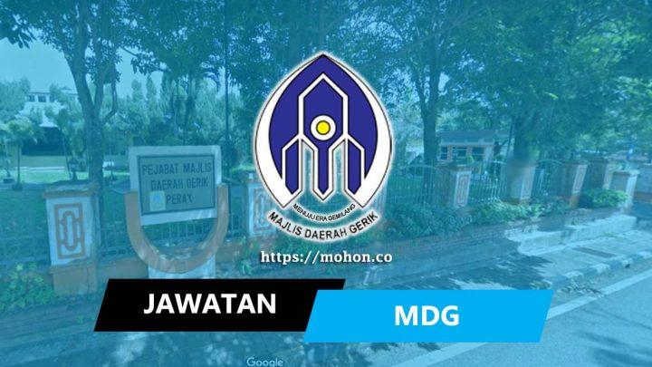 Majlis Daerah Gerik (MDG)