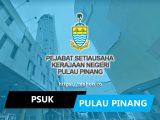 pejabat setiausaha kerajaan negeri pulau pinang psuk pulau pinang