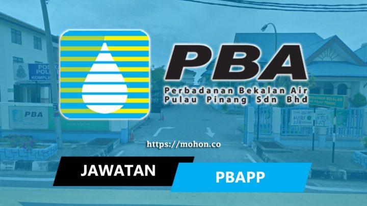 Perbadanan Bekalan Air Pulau Pinang (PBAPP)