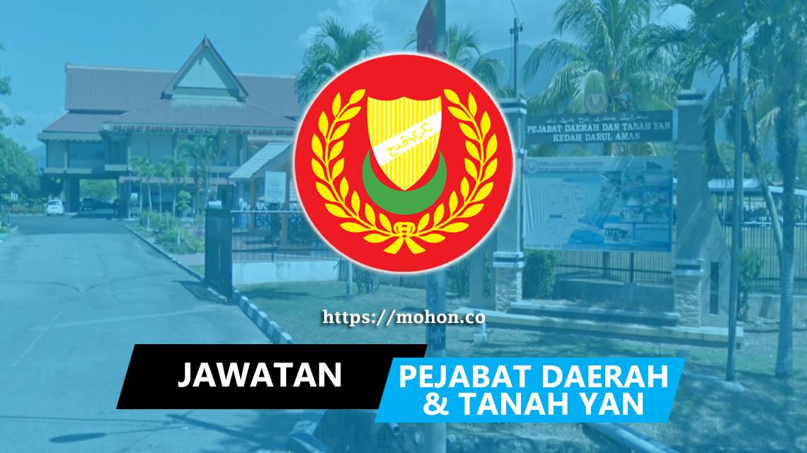Pejabat Daerah dan Tanah Yan Kedah Darul Aman