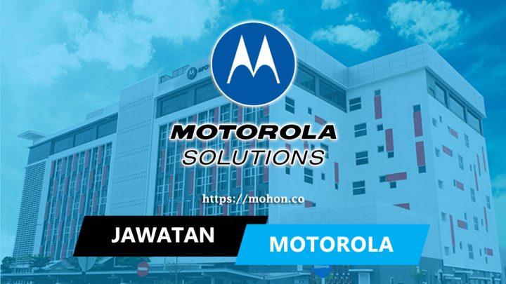 Motorola Solutions Malaysia Sdn Bhd