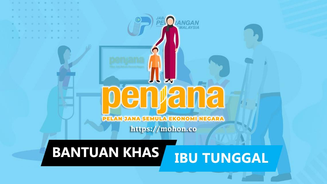 Bantuan Khas Ibu Tunggal (BKIT) RM300 Online