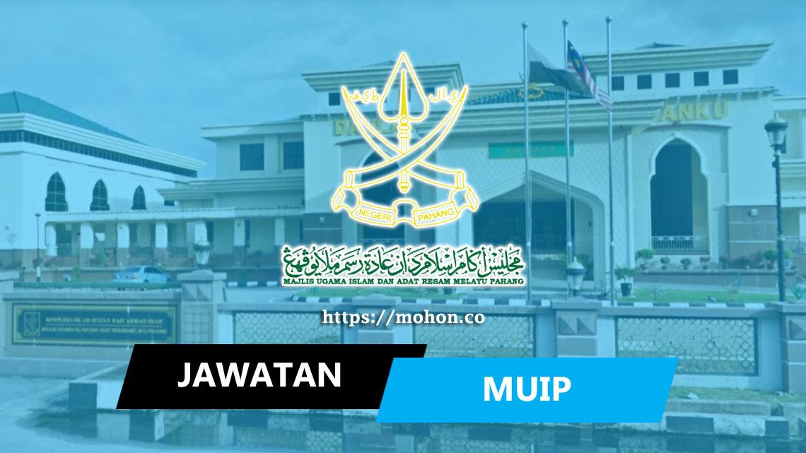 Majlis Ugama Islam & Adat Resam Melayu Pahang (MUIP)