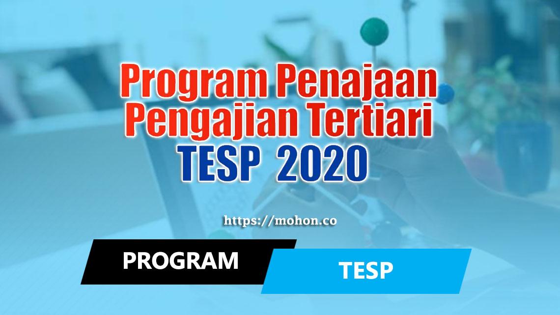 Program Penajaan Pengajian Tertiari (TESP 2020)