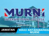 jawatan kosong kolej antarabangsa murni