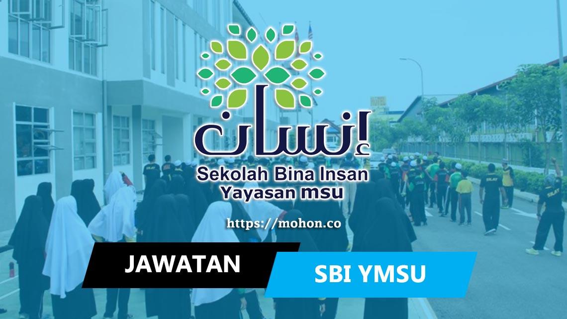 Sekolah Bina Insan, Yayasan MSU (SBI YMSU)
