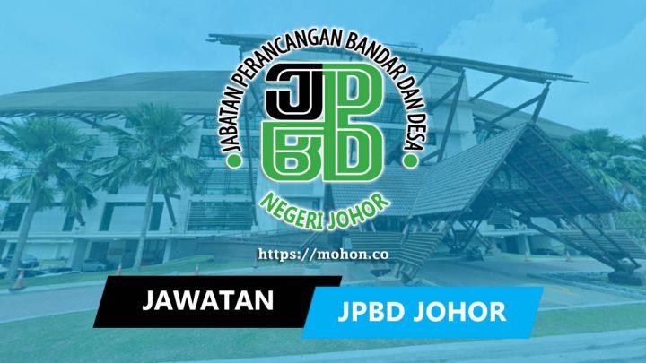 Jabatan Perancang Bandar dan Desa Negeri Johor (JPBD Johor)
