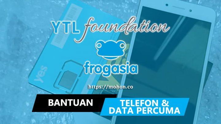 Bantuan Telefon Pintar Percuma & Data Percuma untuk B40 oleh YTL Foundation