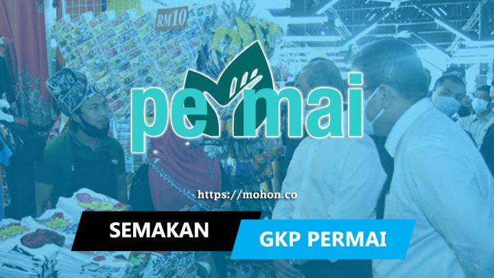 GKP Tambahan PERMAI: Semakan Status & Kemaskini Akaun Bank